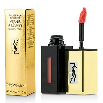 Yves Saint Laurent Rouge Pur Couture Vernis A Levres Color Brillo Agua - #207 Juicy Peach