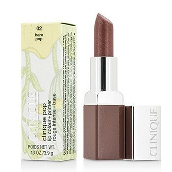 Clinique Clinique Pop Color Labios  + Primer - # 02 Bare Pop