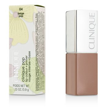 Clinique Clinique Pop Color Labios  + Primer - # 04 Beige Pop