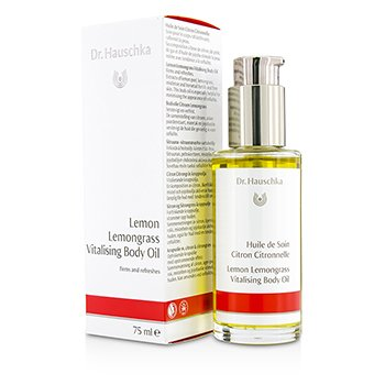 Dr. Hauschka Lemon Lemongrass Vitalising Body Oil - Firms & Refreshes