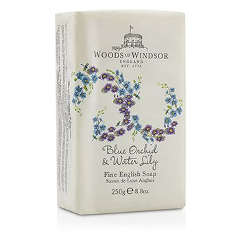 Woods Of Windsor Blue Orchid & Water Lily Jabón Fino Inglés