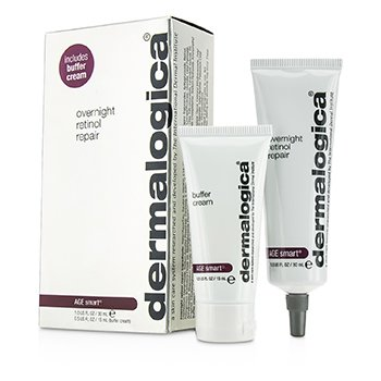 Dermalogica Age Smart Set: Overnight Retinol Repair 30ml + Buffer Crema 15ml