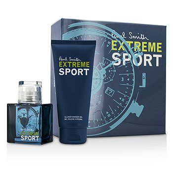 Paul Smith Extreme Sport Coffret:|1x Eau De Toilette Spray 50ml |1x Gel de Ducha Para Todo 100ml|Ideal tanto para uso personal como para regalo