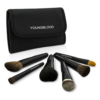 Youngblood Set Profesional de Mini Brochas 6pzas.