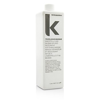 Kevin.Murphy Young.Again.Masque (Immortelle and Baobab Infused Restorative Softening Masque - To Dry Damaged or Brittle Hair)