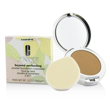 Clinique Beyond Perfecting Base en Polvo + Corrector - # 09 Neutral (MF-N)