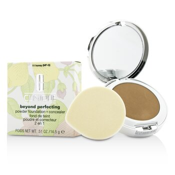 Clinique Beyond Perfecting Powder Foundation + Corrector - # 11 Honey (MF-G)
