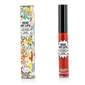 TheBalm Read My Lips (Brillo Labios Con Ginseng) - #Wow!