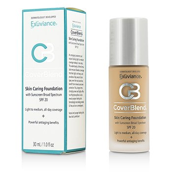 Exuviance CoverBlend Skin Caring Base SPF20 - # Honey Sand