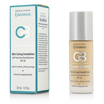 Exuviance CoverBlend Skin Caring Foundation SPF20 - # Blush Beige