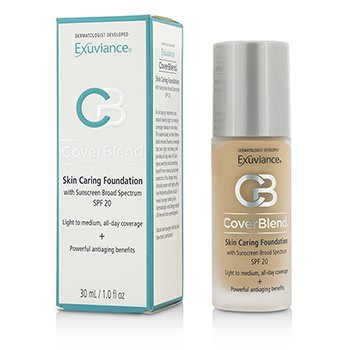 Exuviance CoverBlend Skin Caring Base SPF20 - # Warm Beige