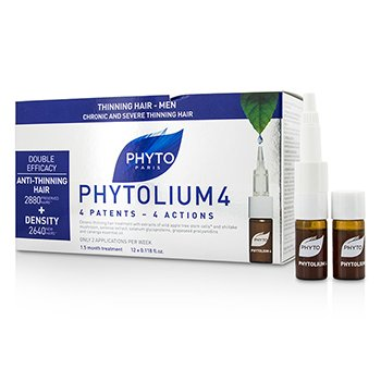 Phyto Phytolium 4 Chronic and Severe Anti-Thinning Hair Concentrado (Para Pérdida de Densidad - Hombres)