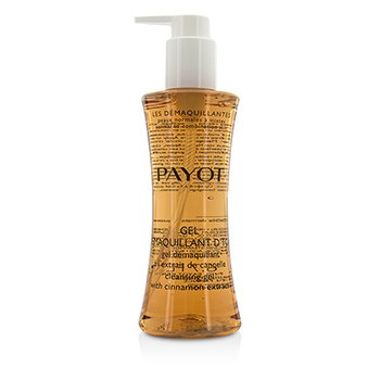 Payot Les Demaquillantes Gel Demaquillant DTox Gel Limpiador con Extracto de Canela - Piel Normal a Mixta