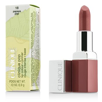 Clinique Clinique Pop Lip Colour + Primer - # 18 Papaya Pop
