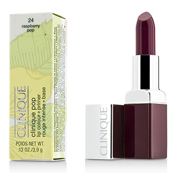 Clinique Clinique Pop Lip Colour + Primer - # 24 Rasperry Pop