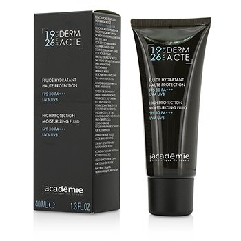 Academie Derm Acte High Protection Moisturizing Fluid SPF 30 PA+++ UVA UVB