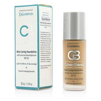 Exuviance CoverBlend Skin Caring Foundation SPF20 - # Desert Sand