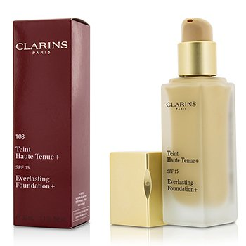 Clarins Everlasting Foundation+ SPF15 - # 108 Sand