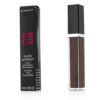 Givenchy Gloss Interdit Color Ultra Brillante Efecto Densificante - # 31 Lune Carmin