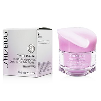 Shiseido White Lucent MultiBright Crema Noche