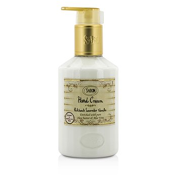 Sabon Hand Cream - Patchouli Lavender Vanilla (With Pump)