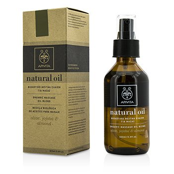 Apivita Natural Oil - Olive, Jojoba & Almond Organic Massage Oil Blend