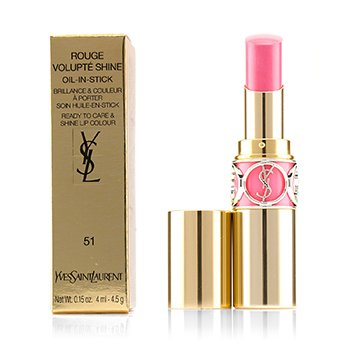 Yves Saint Laurent Rouge Volupte Aceite Brillo en Barra - # 51 Rose Saharienne