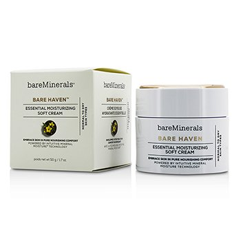 Bare Escentuals Bare Haven Essential Moisturizing Soft Cream - Normal To Dry Skin Types