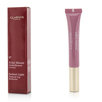 Clarins Eclat Minute Instant Light Perfeccionante de Labios Natural - # 07 Toffee Pink Shimmer