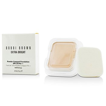 Bobbi Brown Extra Bright Base Compacta en Polvo SPF 25 Repuesto - #0 Porcelain