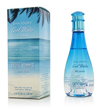 Davidoff Cool Water Exotic Summer Eau De Toilette Spray (Edición Limitada)