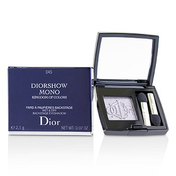 Christian Dior Kingdom of Colors Diorshow Mono Wet & Dry Backstage Eyeshadow (Limited Edition) - # 045 Fairy Grey