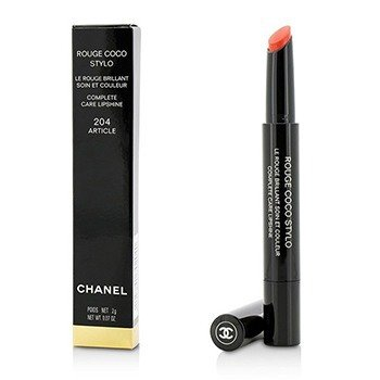 Chanel Rouge Coco Stylo Brillo de Labios Cuidado Completo - # 204 Article