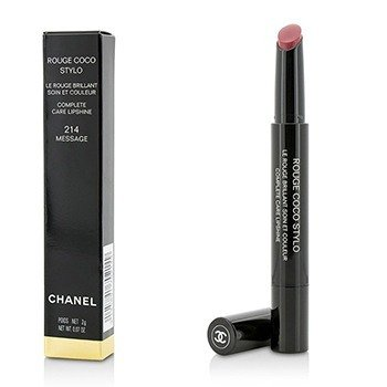 Chanel Rouge Coco Stylo Brillo de Labios Cuidado Completo - # 214 Message