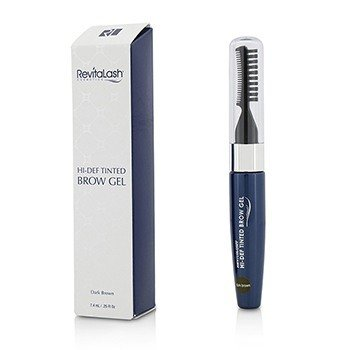 RevitaLash RevitaBrow Hi Def Tinted Brow Gel - Dark Brown