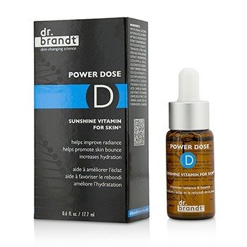 Dr. Brandt Power Dose D Sunshine Vitamina Para Piel
