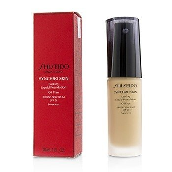 Shiseido Synchro Skin Lasting Liquid Foundation SPF 20 - Golden 3