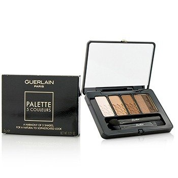 Guerlain 5 Couleurs Eyeshadow Palette - # 02 Tonka Imperiale