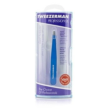 Tweezerman Pinzas Profesionales Inclinadas - Bahama Blue