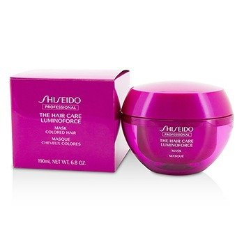 Shiseido The Hair Care Luminoforce Mascarilla (Cabello Tinturado)