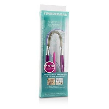 Smooth Finish Facial Hair Remover - Pink (With Pink Slant Tweezerette)