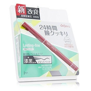 Dejavu Lasting Fine Pencil Eyeliner - Deep Black