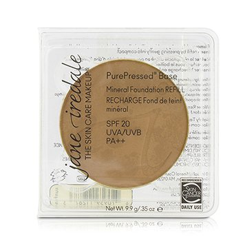 PurePressed Base Mineral Foundation Refill SPF 20 - Suntan
