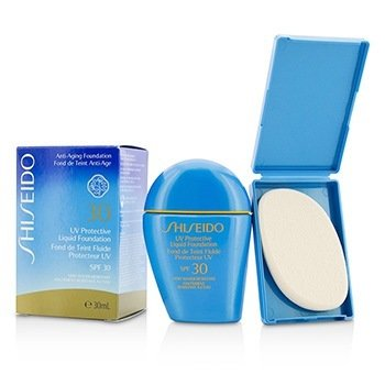 Shiseido Base Líquida Protectora UV - # SP60 Medium Beige
