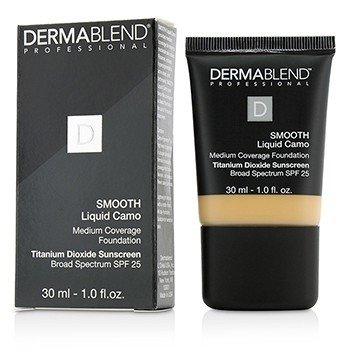 Dermablend Smooth Liquid Camo Base SPF 25 (Cobertura Media) - Chai (35W)