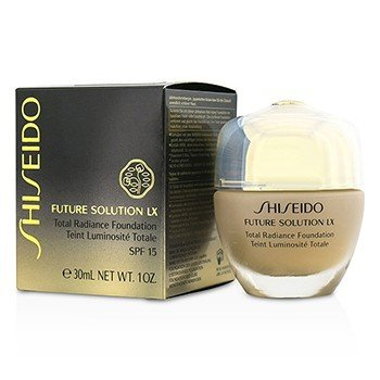 Shiseido Future Solution LX Total Base Resplandor SPF15 - #I60 Natural Deep Ivory