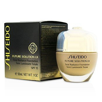 Shiseido Future Solution LX Total Base Resplandor SPF15 - #O40 Natural Fair Ochre