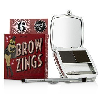 Benefit Brow Zings (Kit Para Cejas Domador & Dador de Forma Total) - #6 (Deep)