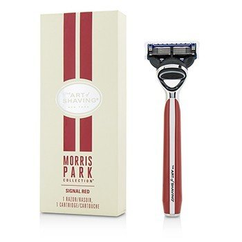 The Art Of Shaving Morris Park Collection Cuchilla de Afeitar - Signal Red