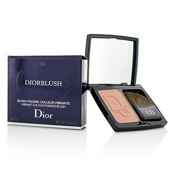 DiorBlush Vibrant Colour Powder Blush - # 563 Shocking Coral